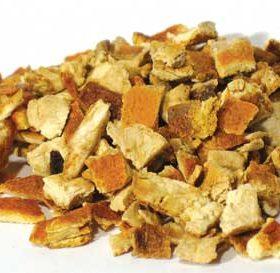Orange Peel (Citrus sinensis) - Cut