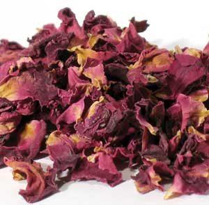 Rose Red Buds & Petals (Rosa centifolia)