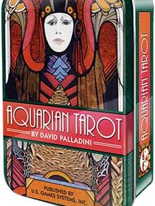 Aquarian tarot tin by Palladini