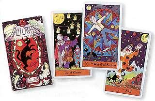 Halloween Tarot by  West & Kipling
